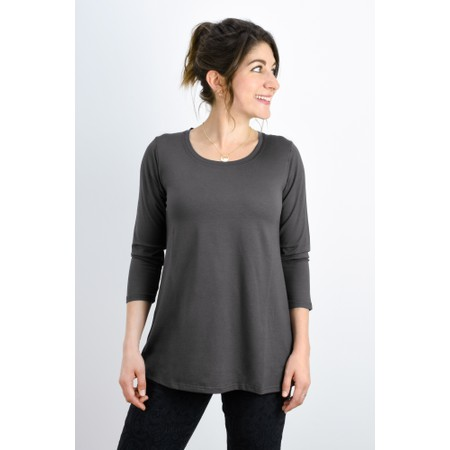 Masai Clothing Cilla Basic Top - Grey