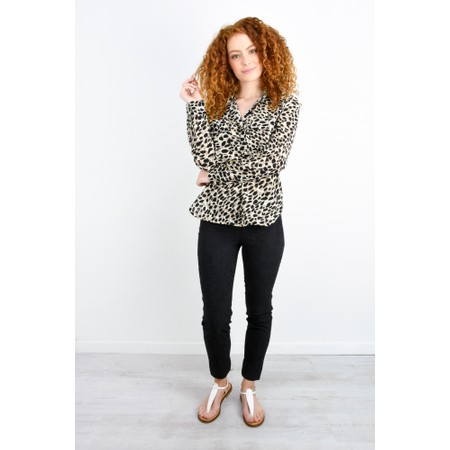 Great Plains Cara Leopard Shirt  - Beige