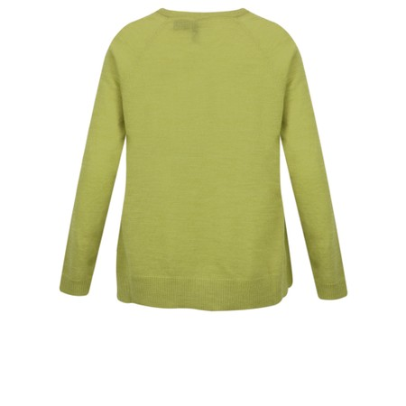 Foil Feel Free Merino A-Line Jumper - Green