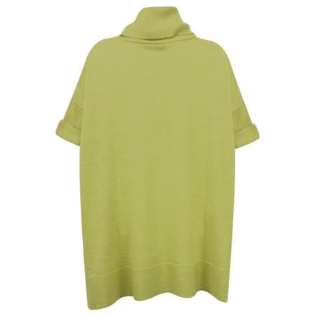 Foil Surprise & Demand Merino Drape Jumper - Green