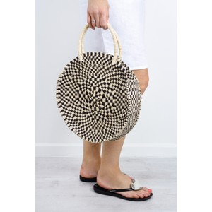Betsy & Floss Antibes Round Basket Bag