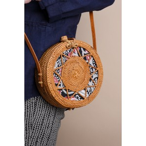 Betsy & Floss Sicily Round Basket Bag