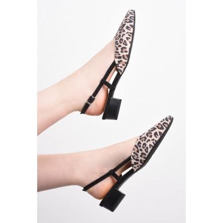 Peter Kaiser Claudia Slingback Kitten Heel  - Black