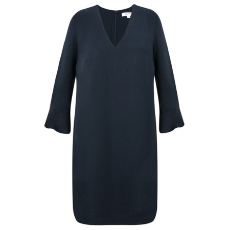Great Plains Elegant Ruffle Sleeve Dress - Blue