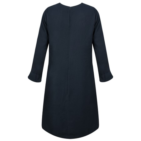 Great Plains Elegant Ruffle Sleeve Dress - Blue