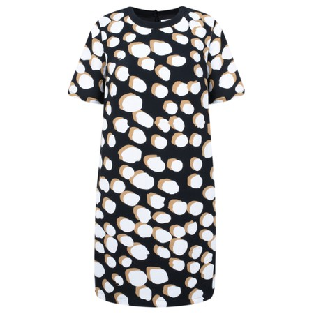 Great Plains Margot Spot Dress - Black