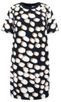 Great Plains Black/Amaretto Margot Spot Dress