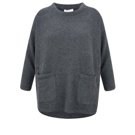 Great Plains Kitten Soft Pocket Jumper - Black