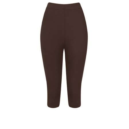 Thing Bamboo Cropped Legging - Brown