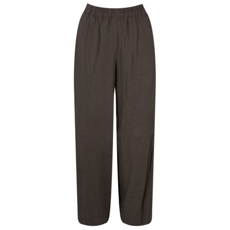 Thing Linen Easy Fit Trouser - Brown