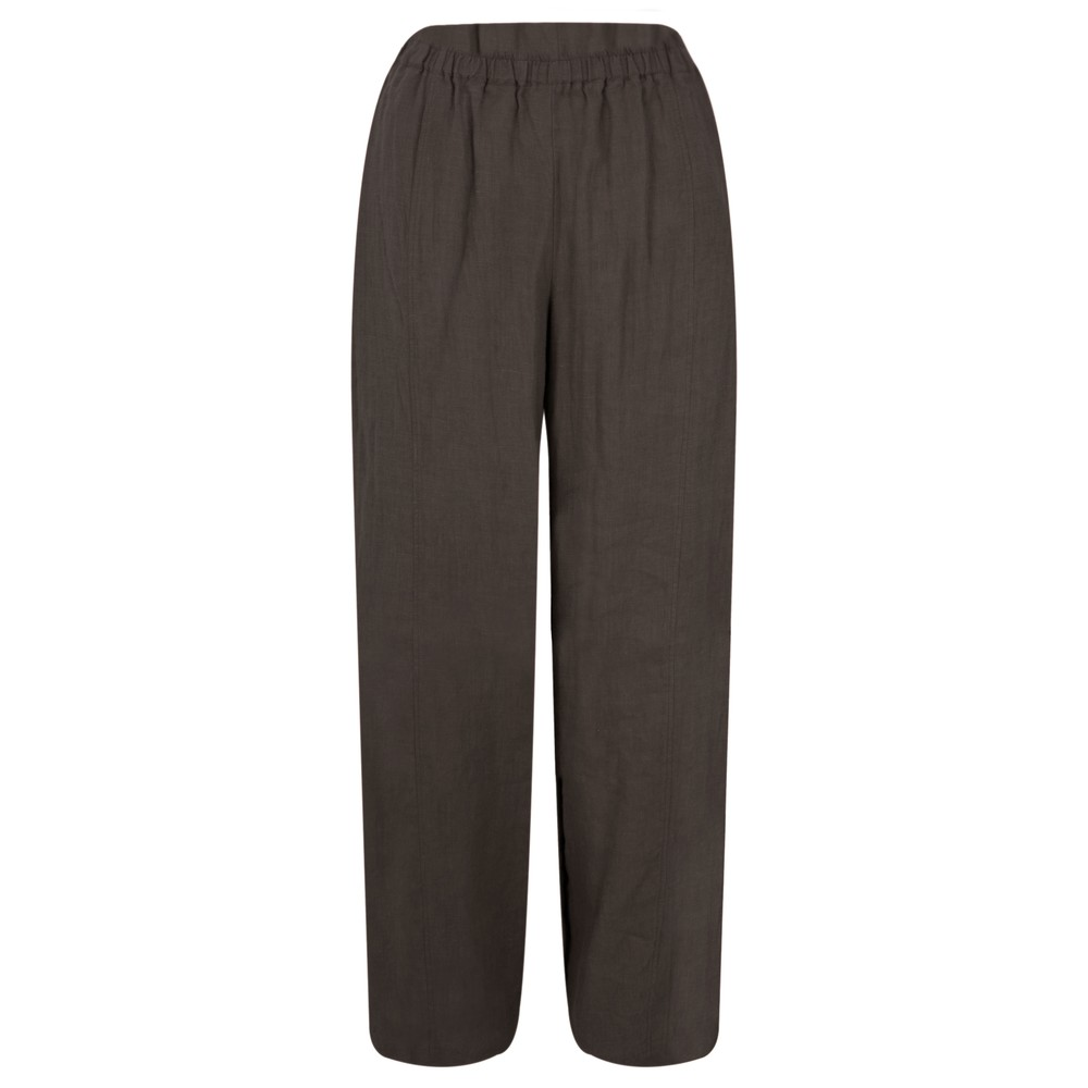Thing Linen Easy Fit Trouser Coffee