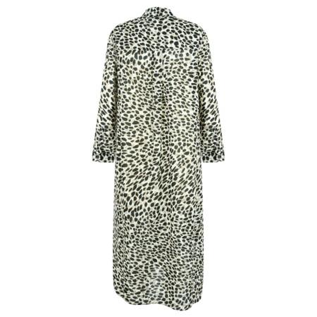 Great Plains Cara Leopard Shirt Dress - Beige