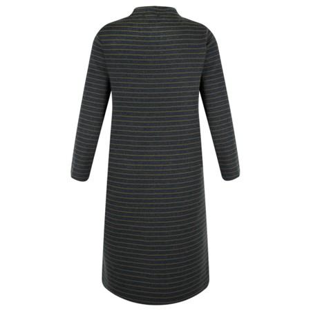 Great Plains Somme Stripe Knit Dress - Green