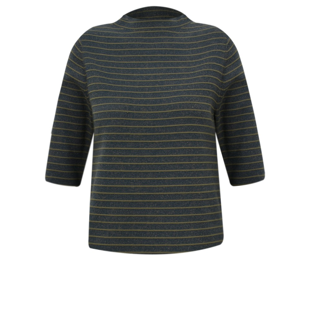 Great Plains Somme Knit Jumper dark olive/black