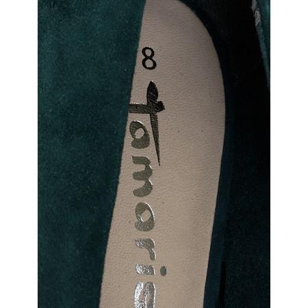 Tamaris Ares Court Shoes  - Green