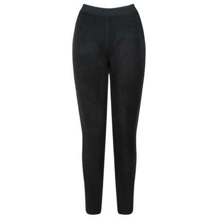 Great Plains Belle Faux Suede Trouser - Black