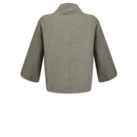 Thing Easy Fit Button Jacket - Grey