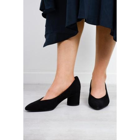 Tamaris  Ares Court Shoes  - Black