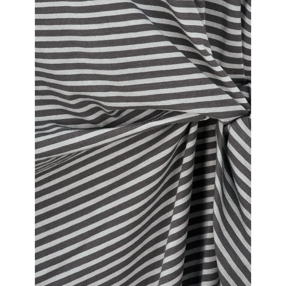 Sandwich Clothing Striped Tie Detail Jersey Dress  Dolphin