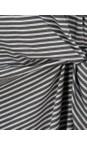 Sandwich Clothing Dolphin Striped Tie Detail Jersey Dress
