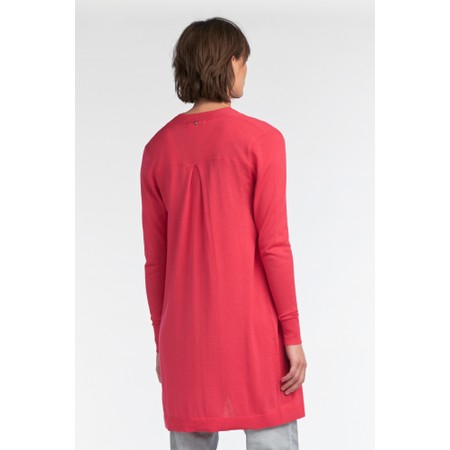 Sandwich Clothing Long Sleeves Cardigan  - Pink
