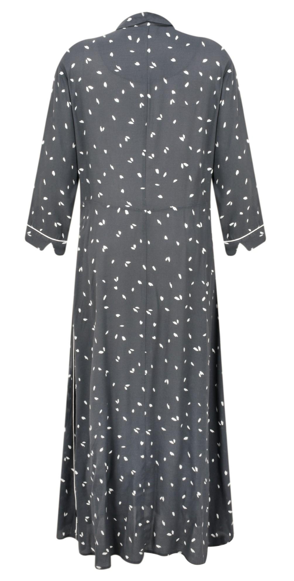 Dash Print Long Tea Dress  main image