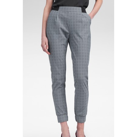 Sandwich Clothing Sports Jersey Checked Trousers - Grey