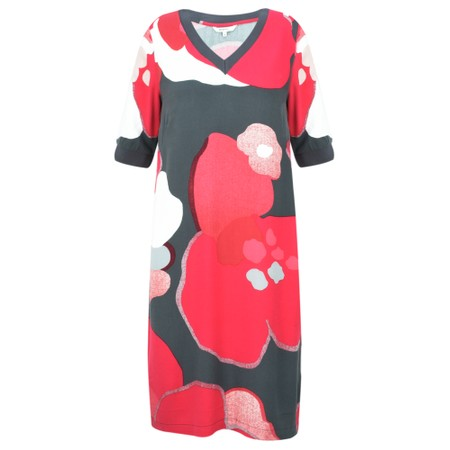 Sandwich Clothing Bold Floral Dress - Pink