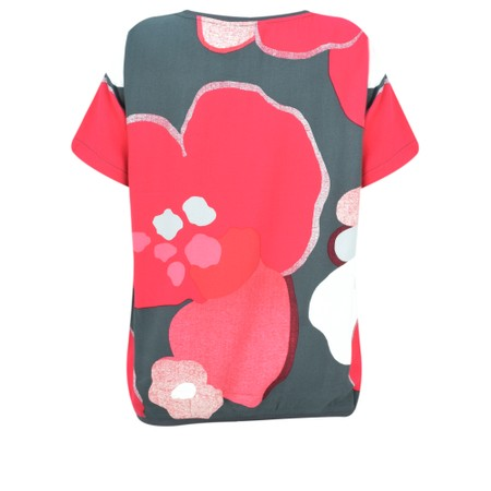 Sandwich Clothing Bold Floral Top - Pink