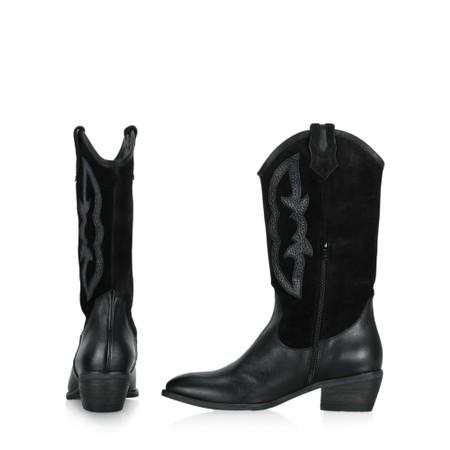 Kanna Rabat Western Boot  - Black