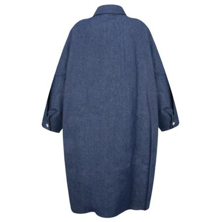Chalk Lisa Denim Coat - Blue
