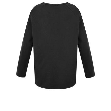 Chalk Tasha Plain Jersey Top - Black