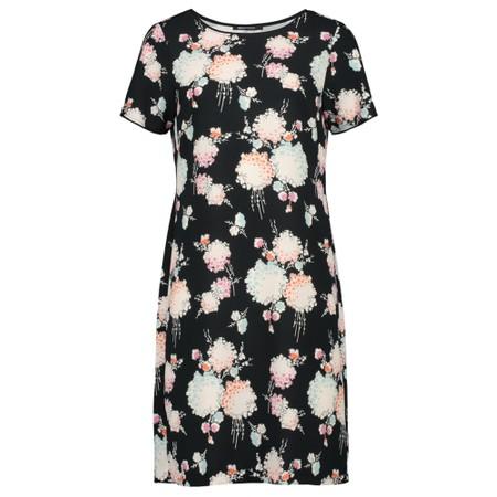 Expresso Harmke Floral Print Dress - Black