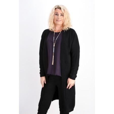 Fenella  Carrie Easyfit Supersoft Long Cardi - Black