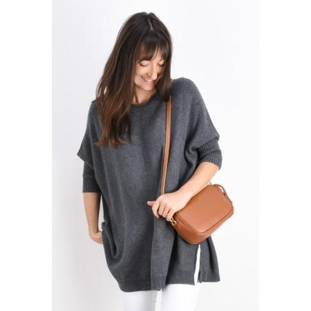 Fenella  Reva Oversized Supersoft Knit - Grey