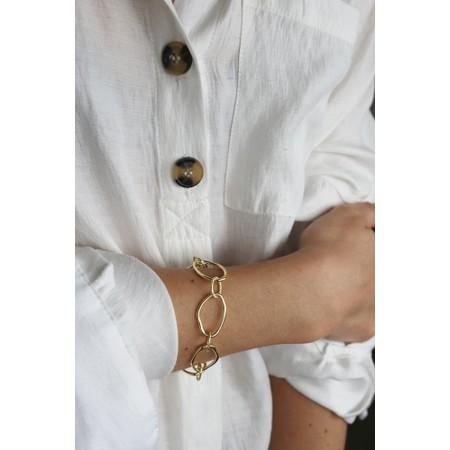 Tutti&Co Calm Coastal Bracelet  - Gold