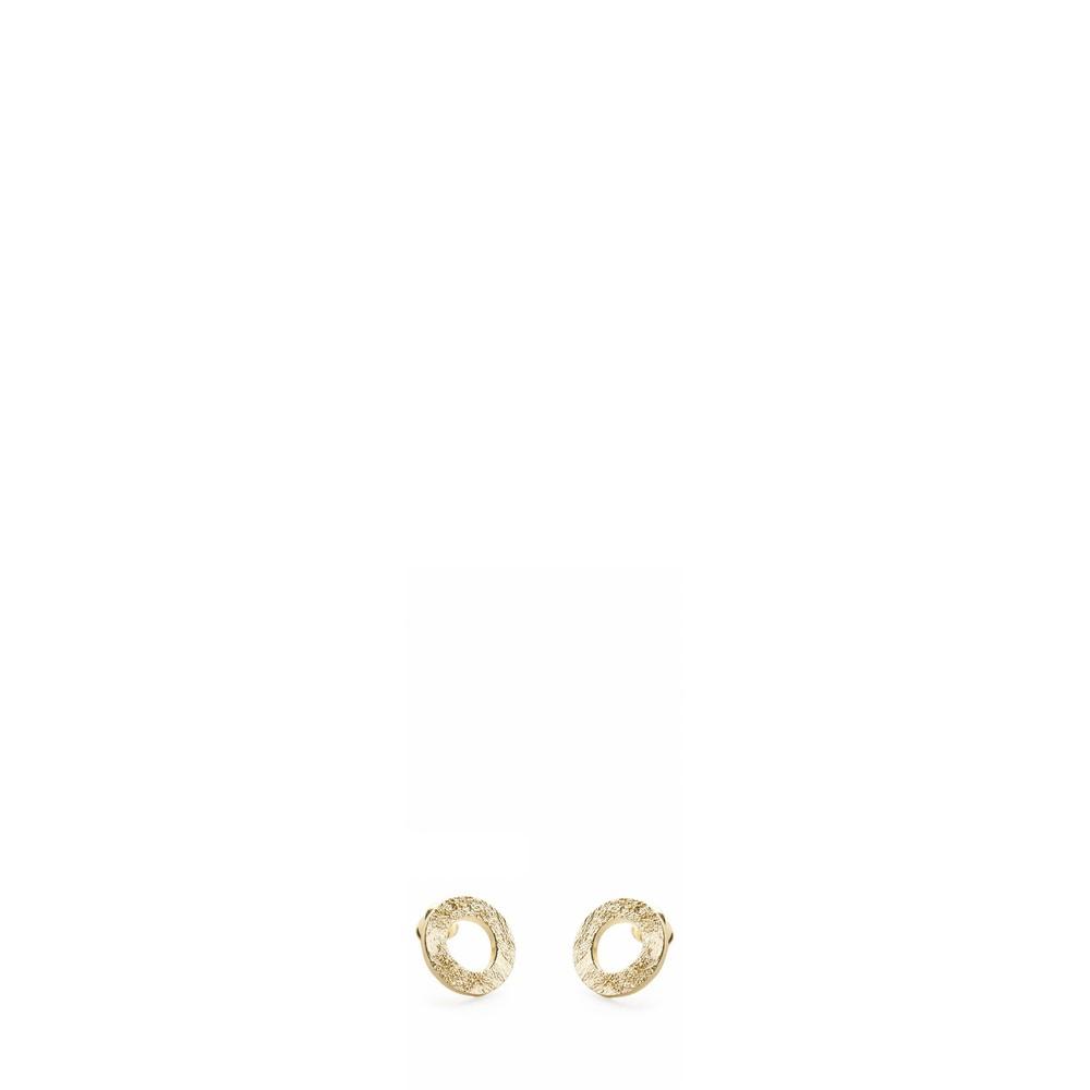 Tutti&Co Mineral Coastal Earrings  Gold