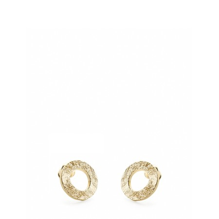 Tutti&Co Mineral Coastal Earrings  - Gold