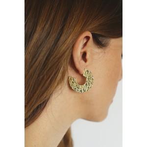 Tutti&Co Leopard Earrings