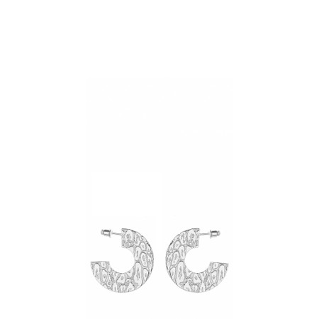Tutti&Co Leopard Earrings  - Metallic