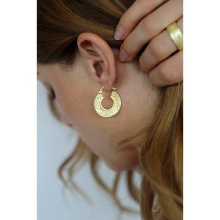 Tutti&Co Cinder Coastal Earrings  - Gold