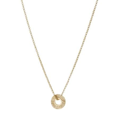 Tutti&Co Mineral Coastal Necklace - Gold
