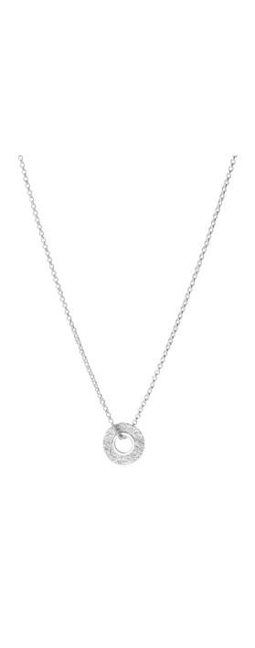 Tutti&Co Mineral Coastal Necklace Silver