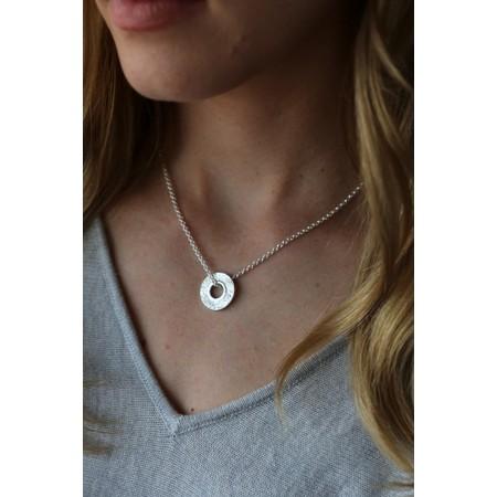 Tutti&Co Mineral Coastal Necklace - Metallic