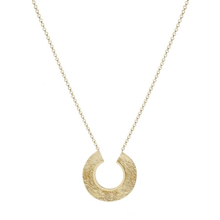 Tutti&Co Earth Coastal Necklace  - Gold