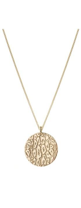 Tutti&Co Leopard Necklace Gold