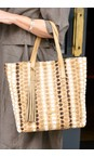 Kanna Multi Cabel Stripe Beach Bag