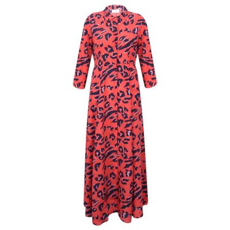 Mercy Delta Rosedene Dress - Red
