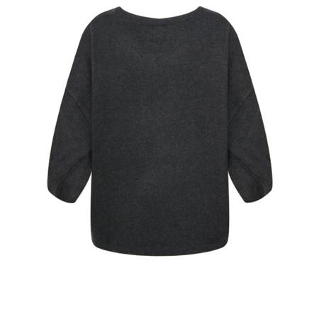 Mes Soeurs et Moi Padrino Fleece Poncho Top - Grey