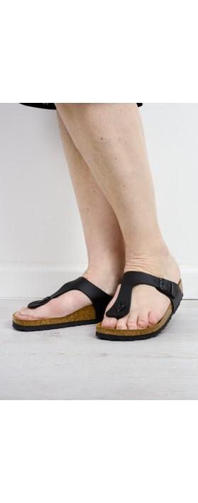 Birkenstock Gizeh Sandal Black